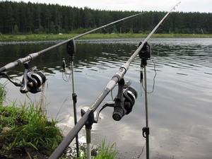 Удочки дальнего заброса нужны для рыбной ловли с берега.