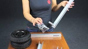 Самостоятельное изготовление и установка транцевых колес
