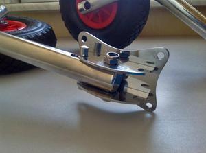 Шасси для транцевых колес своими руками