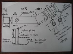 Плюсы изготовления транцевых колес своими руками