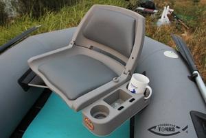 Как укрепить сидение в лодке