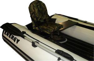 Монтаж мягкого сидения в лодке