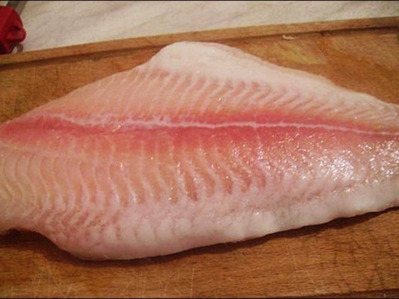Рыба пангасиус филеы
