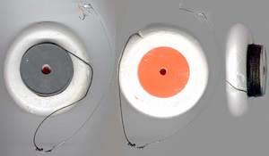 Кружки на щуку могут отличаются и материалом, и особенностями конструкции.