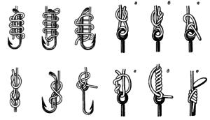 Лучшие рыболовные узлы. Рассмотрим узлы, их прочность и технику вязания