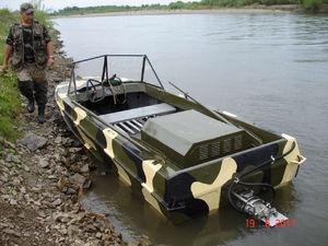 Изготовление водометного лодочного двигателя