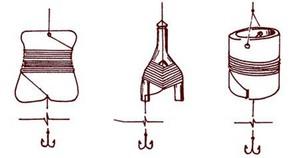 Летние жерлицы могут быть очень разными на вид.