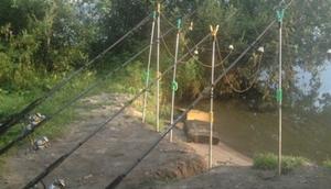 Ловить рыбу на донку очень удобно, ведь после установки можно отдохнуть и насладиться природой.