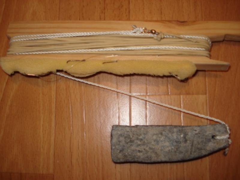 Донка, которой пользовались наши деды и прадеды, пользуются и сегодня многие новички, называется закидушка.