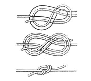 Как вязать фламандский узел