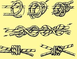 Как вязать базовый узел