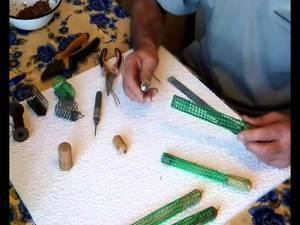 приспособления для ловли рыбы плетеное фитиль