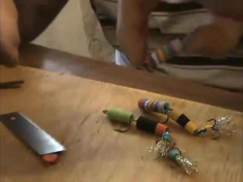 видео ловля на мандулу и ее изготовление