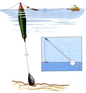 Какой должна быть поплавочная снасть, чтобы ловить и поймать карпа
