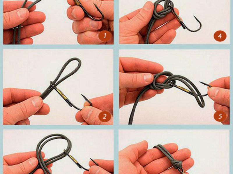 Примеры вязки узлов