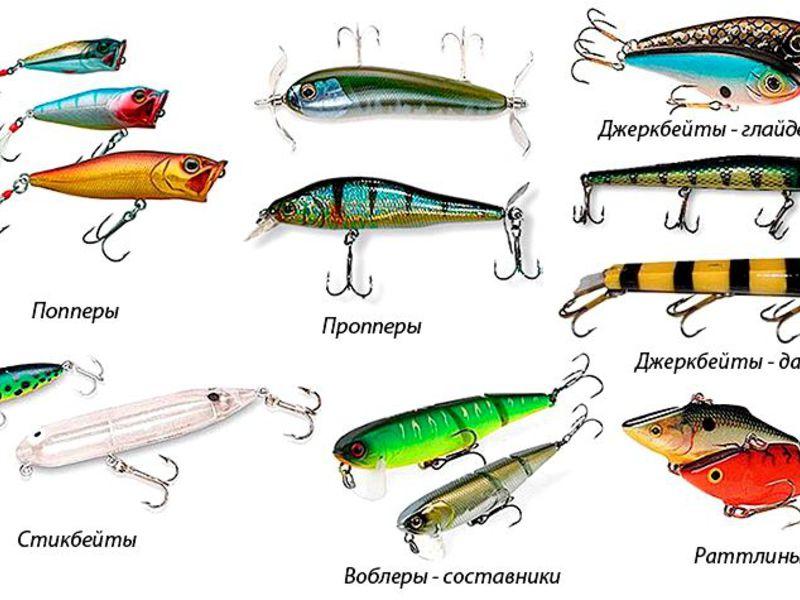 блесны для рыбы виды