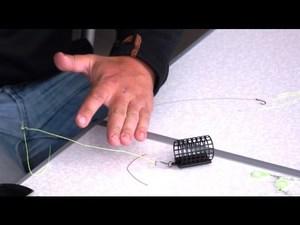 Как сделать фидерную оснастку in-line своими руками